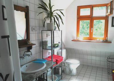 lazienka, toaleta i okno